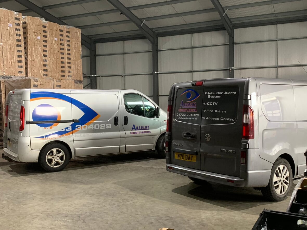 The Absolut Security Solution van
